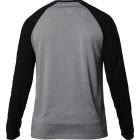 Fox Tournament Langarm Tech T-Shirt Herren pewter